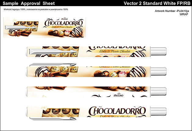 znakowanie Chocoladorro