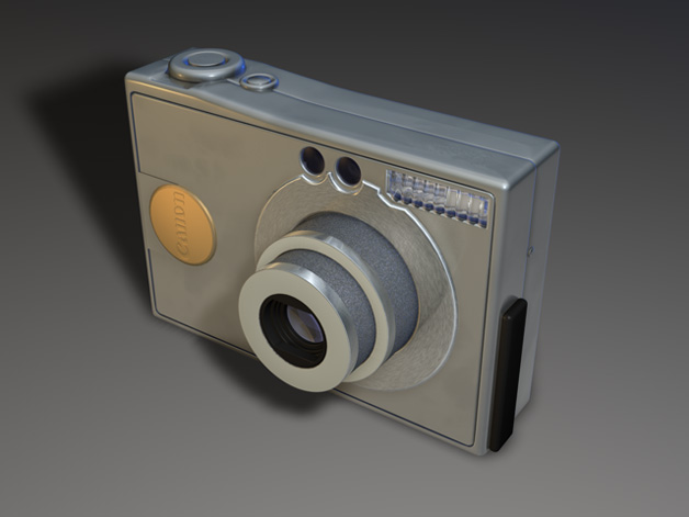 Canon Ixus - - Cinema 4D