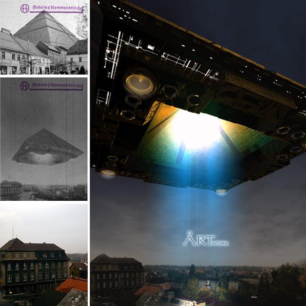 stargate w Mikołowie - Cinema 4D, Adobe Photoshop