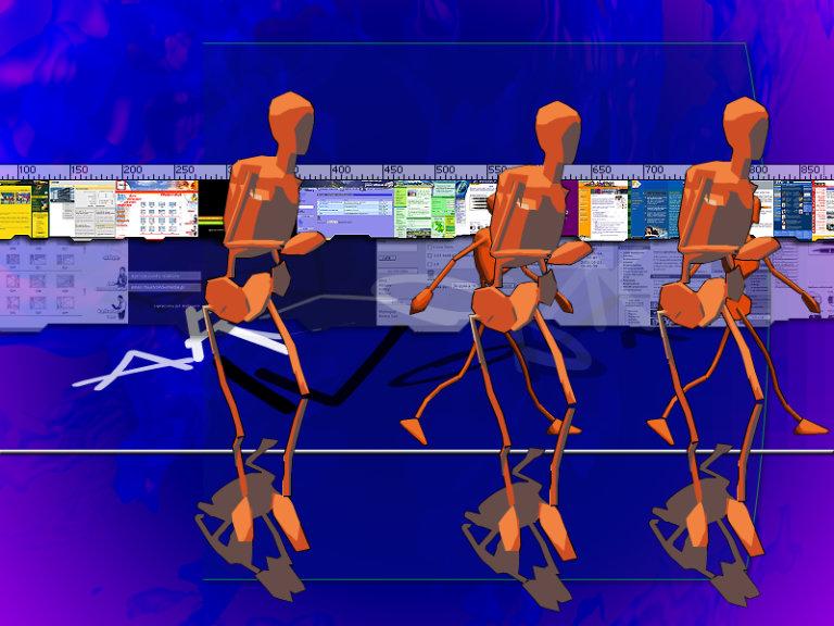 prezentacja multimedialna Artwork - Adobe Photoshop, Macromedia Shockwave