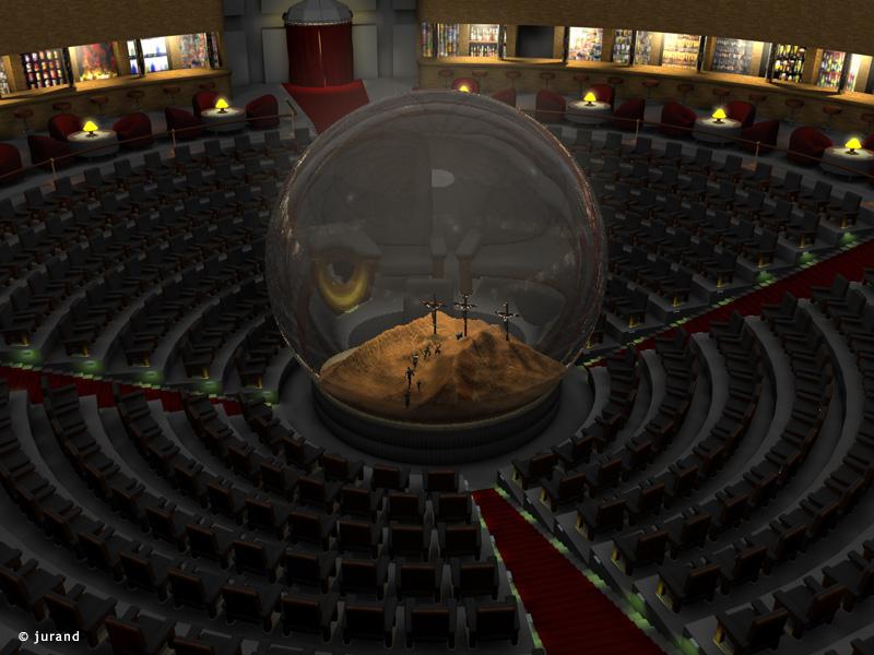 Golgota seans - Cinema 4D