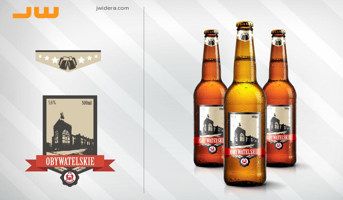 etykiety dla Browaru Obywatelskiego - Affinity Designer, Affinity Photo