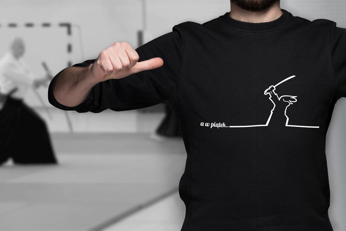 koszulka aikido - Affinity Designer