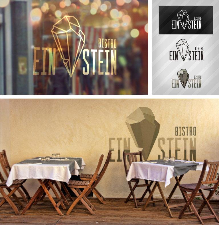 wizualizacja logotypu Einstein - Affinity Designer, Affinity Photo