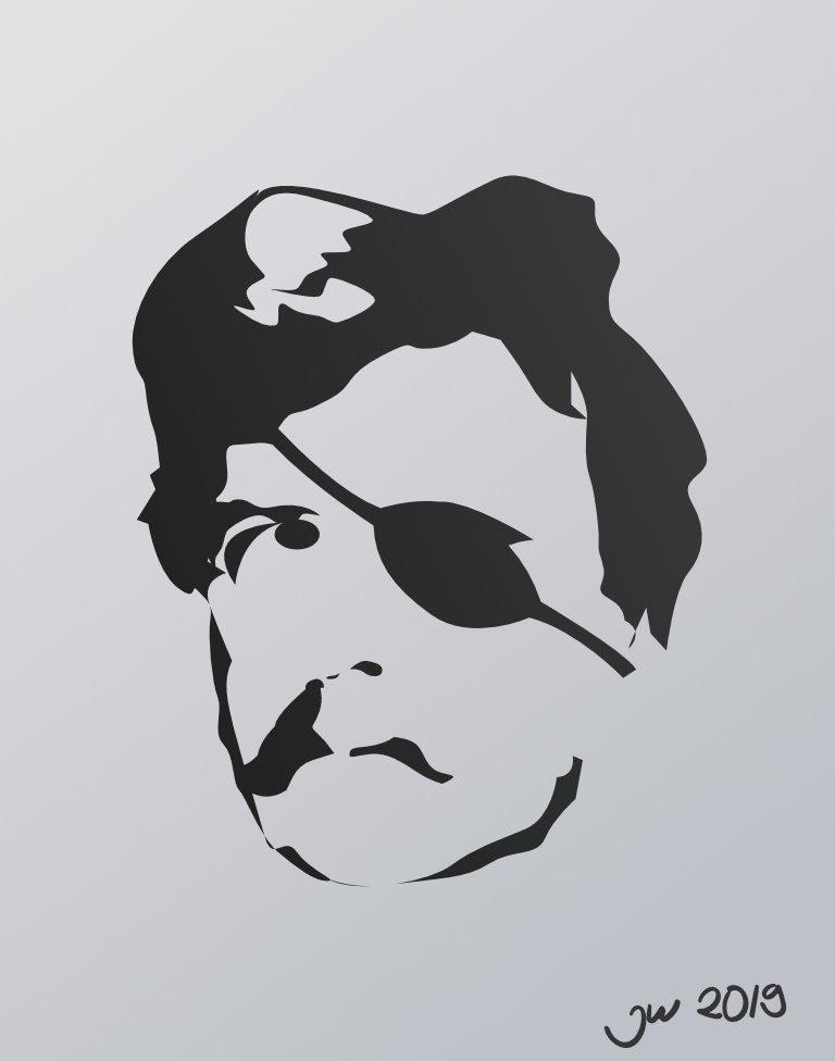 Jurand ze Spychowa w wektorze - Affinity Designer