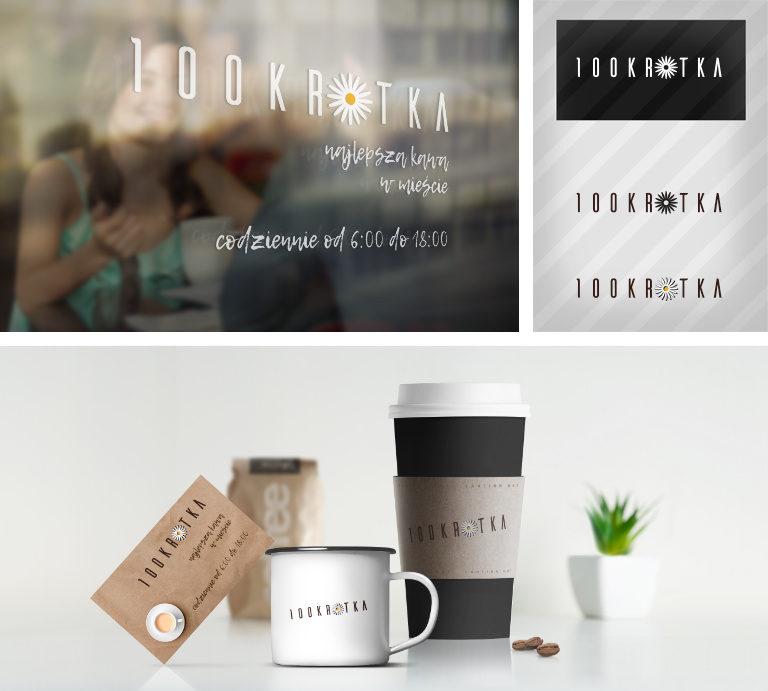 wizualizacja logotypu Stokrotka - Affinity Designer, Affinity Photo