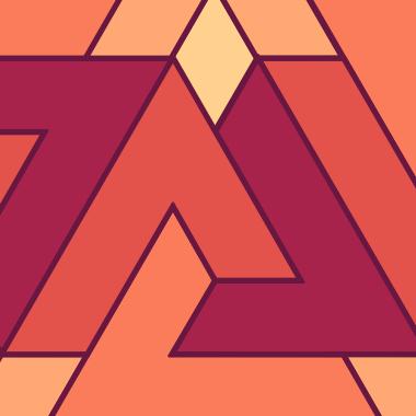 Mozaika Valknut Triangle