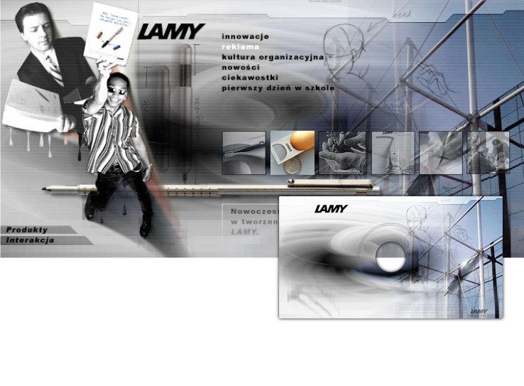 prezentacja multimedialna Lamy - Adobe Photoshop, Macromedia Shockwave