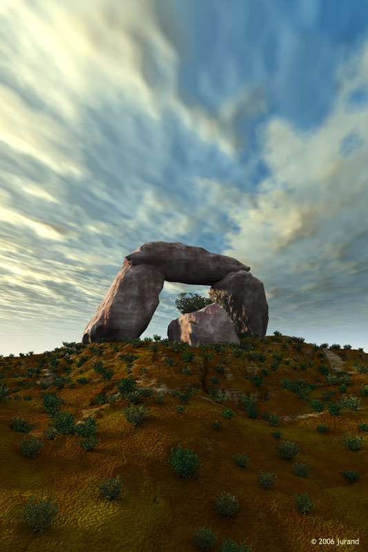Stonehenge - Vue d'ESprit