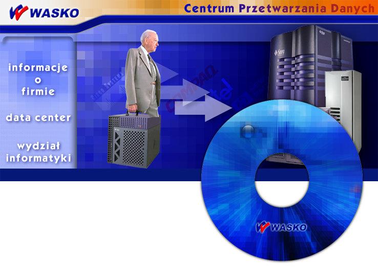 prezentacja multimedialna WASKO S.A. - Adobe Photoshop, SCALA