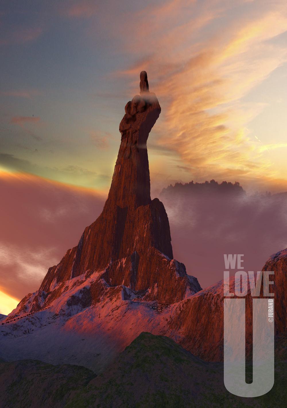 plakat stworzony za pomocą Terragena i Photoshopa