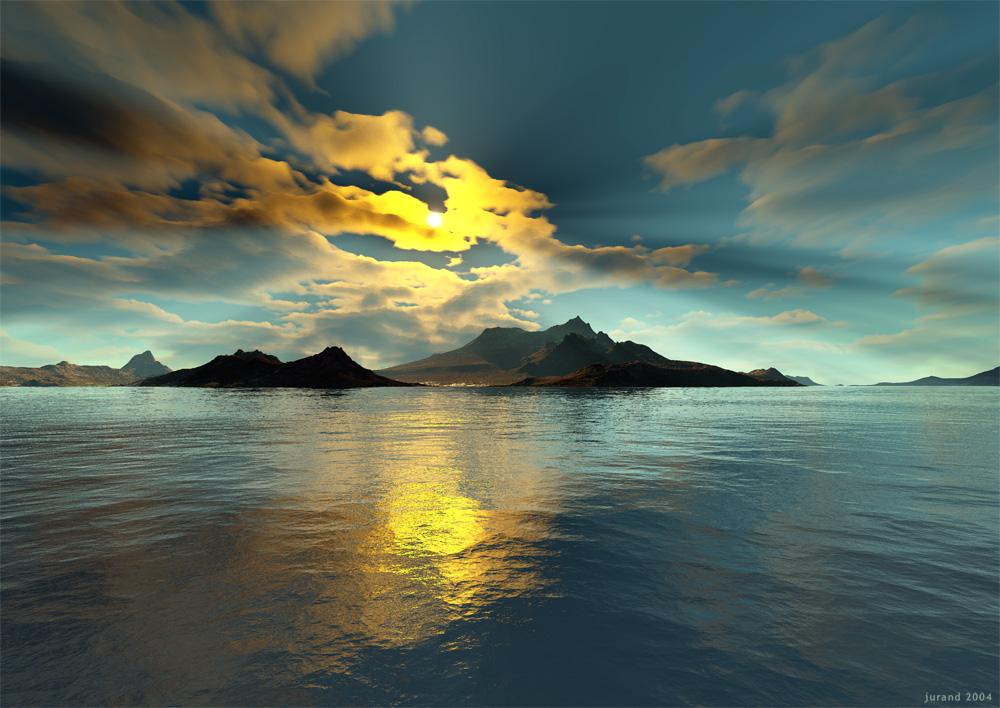 Wyspa - Terragen